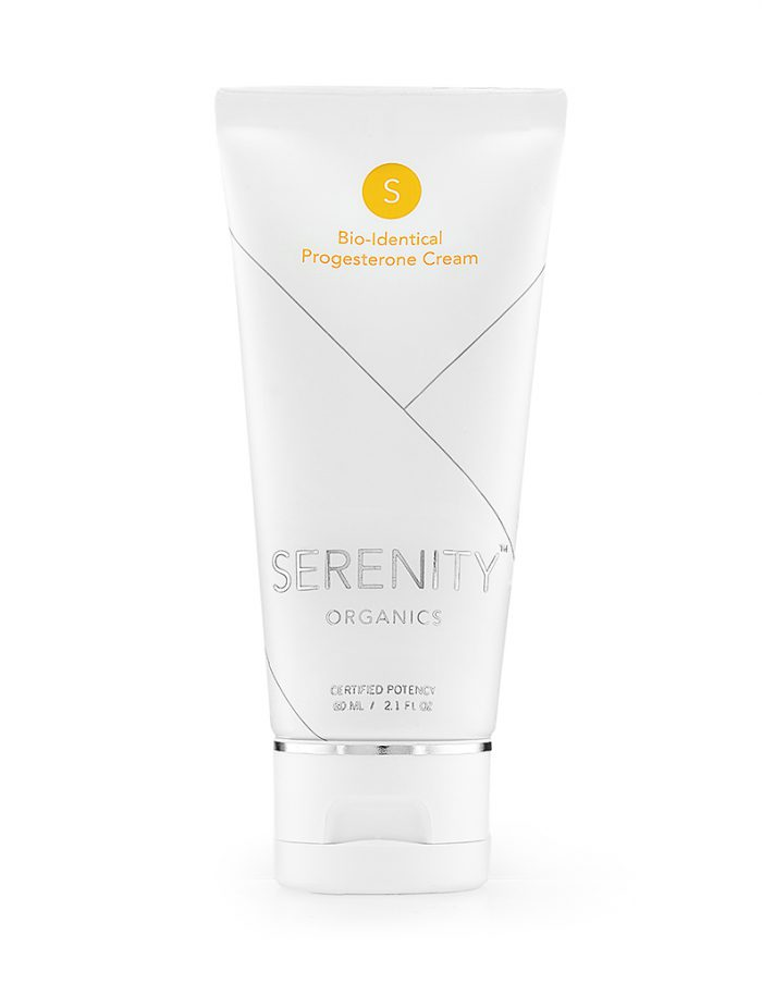 SERENITY PROGESTERONE CREAMS CONVENIENT TRAVEL TUBE GMO FREE